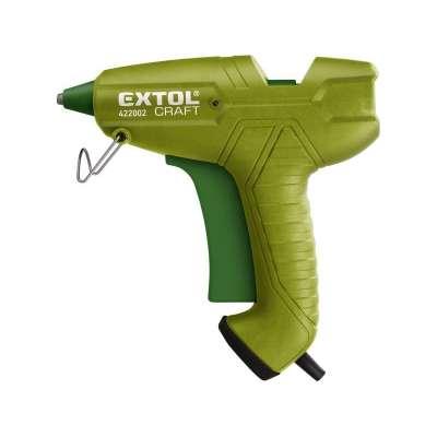 Pištoľ lepiaca tavná, max. príkon 200W, pracovný príkon 65W, tavné tyčky 422002
