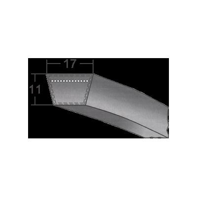 Klinový remeň 17x1350 Li/1390 Lw