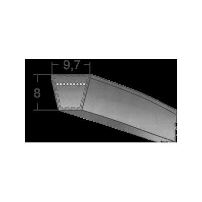 Klinový remeň SPZ 675 La/662 Lw