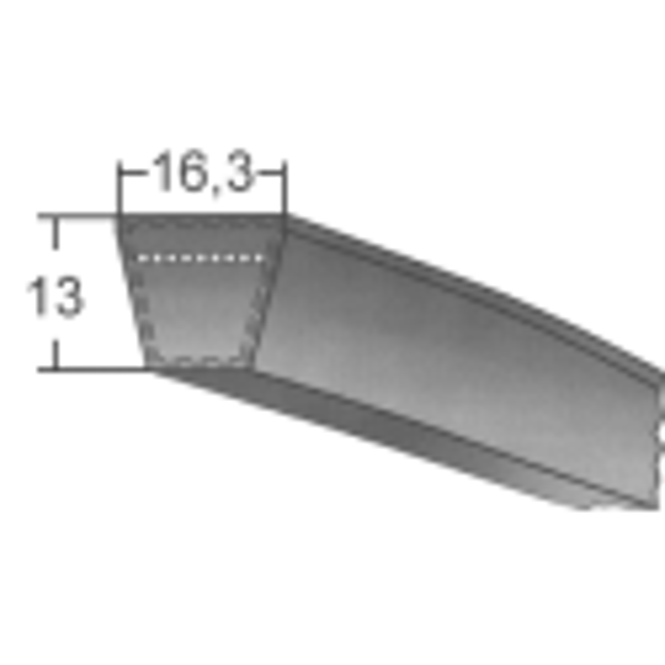 Klinový remeň SPBx4750 Lw/4772 La
