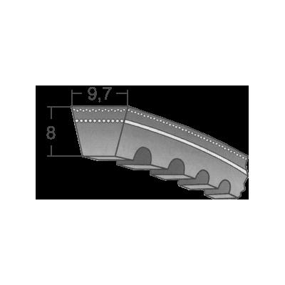 Klinový remeň XPZx1180 Lw/1193 La