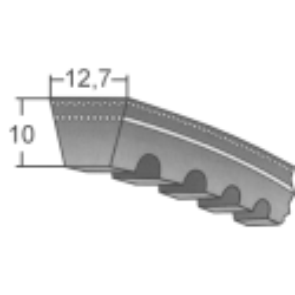 Klinový remeň XPA 850 Lw/868 La