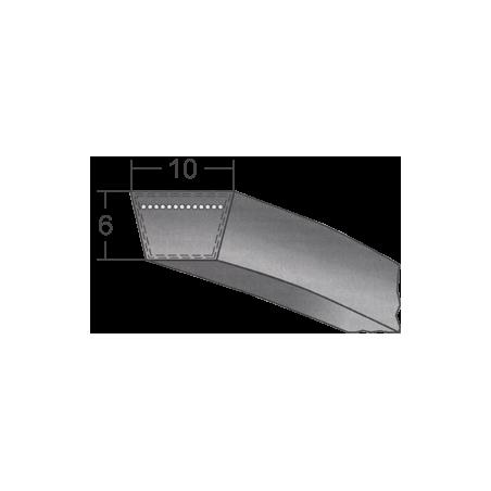 Klinový remeň 10x508 Li/530 Lw