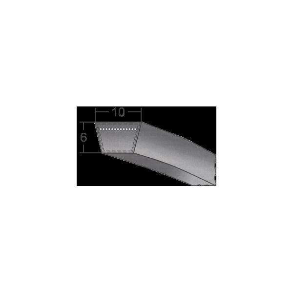 Klinový remeň 10x560 Li/580 Lw