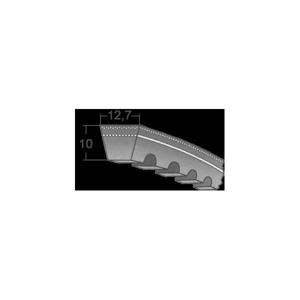 Klinový remeň XPA 825 Lw/0843 La / BANDO