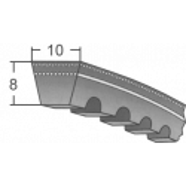Klinový remeň AVX10X600 La / BANDO