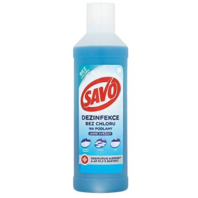 SAVO Dezinfekcia bez chlóru - na podlahy jarná sviežosť 1L