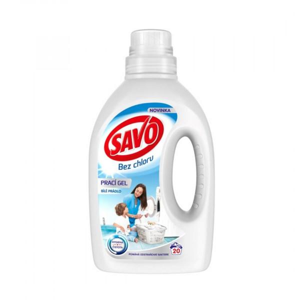 SAVO Gél na pranie White 20 PD