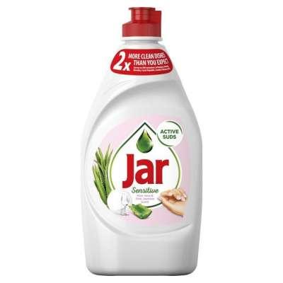 JAR Sensitive vôňa Aloe Vera & Pink Jasmin Prostriedok na umývanie riadu, 450 ml