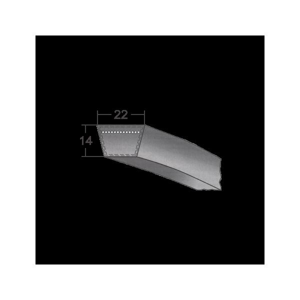 Klinový remeň 22X3000 Li/3058 Lw