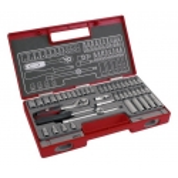 "Nástrčné kľúče Professional 1/4"" 4-14mm sada 45ks FORTUM 4700013"