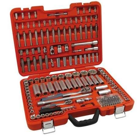 Nástrčné kľúče EXTOL Premium, sada 175ks, CrV, 8818300