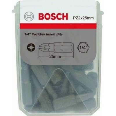 Skrutkovací hrot BOSCH Extra Hart, 25ks, 2608522187