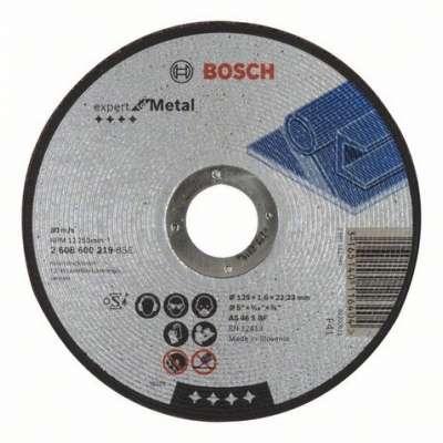 Rovný rezací kotúč BOSCH Expert for Metal, 2608600219