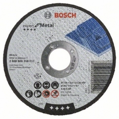 Rovný rezací kotúč BOSCH Expert for Metal, 2608600318