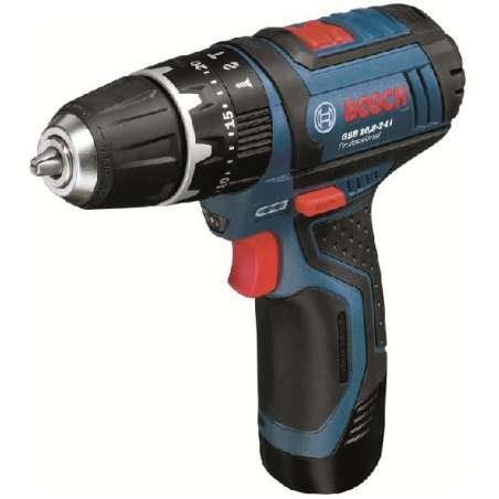 Príklepový vŕtací skrutkovač Bosch GSB 12V-15 0 601 9B6 906, 06019B6906