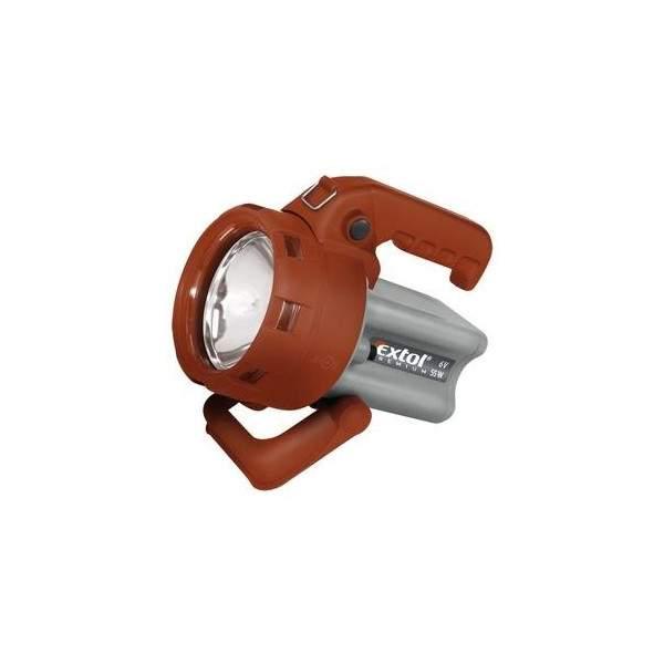 Svietidlo nabíjateľné halogénové 55W 230V EXTOL 8862120