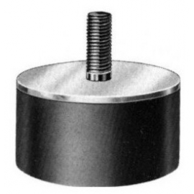 SILENTBLOK D25xHR20/M6x18, 25-20-4